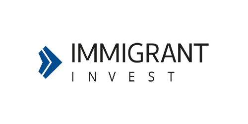 Immigrant Invest logo horizontal