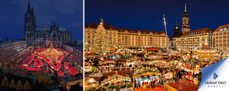 зимний отдых в Германии и Австрии